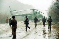 Чеченская Республика. Ми-8, подбитый 14 декабря 1994 года