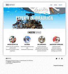 Galleria grafica siti web by Lorenza Ancilli, via Behance