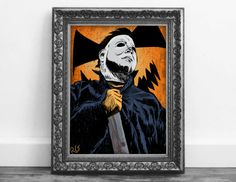 Check out this item in my Etsy shop https://www.etsy.com/ca/listing/476167060/michael-myers-halloween-dark-horror