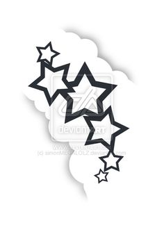 Stars and Clouds Tattoo by simonMEGALOLZ on DeviantArt Cloud Tattoo, Man Sketch, Star Tattoos, Tattoo Sketches, Tatting, Clouds, Deviantart, Stars, Character