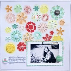 In The Garden - Scrapbook.com by Lee-Anne Thornton.  I love this background.