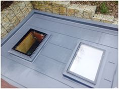 Another satisified customer in Gaydon. 2no skylights installed on extension roof.