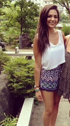 Bethany Mota (love her outfit! <3)