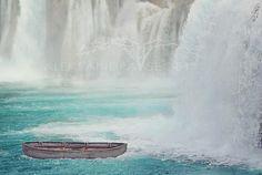 waterwall backgrounds digital backdrop photoshop overlays