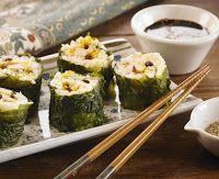 Cantinho Vegetariano: Sushi Caipira (vegana)