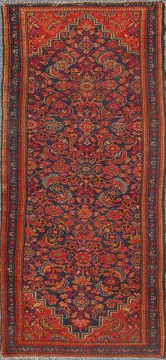 "KEIVAN WOVEN ARTS,   Type :Malayer Origin :Iran e Size : 3'2""x6'8""  Circa :1920"
