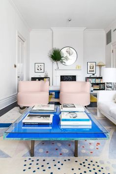 These Chic-to-Death Contemporary Living Room Ideas Will Make Any Space Look Mod, Home Decor, This spring, give your home a makeover and give these contemporary living room ideas a try. Serious home décor inspiration awaits. Cheap Modern Furniture, Colorful Furniture, Furniture Ideas, Furniture Dolly, Furniture Outlet, Discount Furniture, Table Furniture, Bedroom Furniture, Traditional Decor