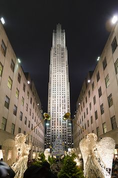 Rockefeller Xmas Tree....best time to visit NYC!