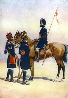 Poona Horse / General Robert's March to Kandahar and the Battle of Baba Wali, 1880 (Second Afghan War)
