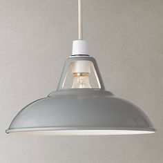 Dining room light option 3 (high price)   Buy John Lewis Croft Collection Easy-to-fit Campbell Ceiling Shade Online at johnlewis.com