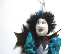 Lady Arianchne  OOAK Spider Art Doll by MountainDolls on Etsy, $30.00