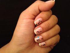 Fun party nails..))