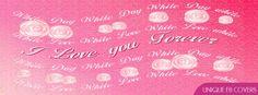 I Love You Forevr Valentines Day Facebook Cover