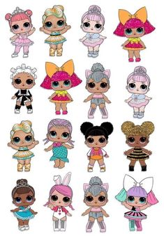 Best 12 Ideas For Birthday Ideas Surprise Creative – SkillOfKing. Baby Birthday, Birthday Parties, Birthday Ideas, Cake Designs For Girl, Lol Doll Cake, Personajes Monster High, Doll Party, Making Hair Bows, Doll Stands