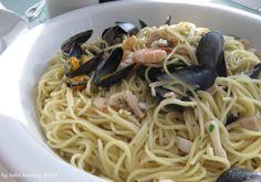 #Spaghetti allo scoglio #Italy #Meeresfrüchte #Muscheln #Pasta #Rezept