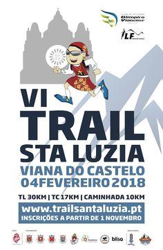 VI Trail de Santa Luzia | Caminhada | 2018 | Estádio Municipal Manuela Machado | Viana do Castelo