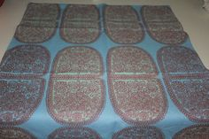 Pair of Vintage Marimekko Tantsu double placemats / table runners from 1960's on Etsy, $86.00