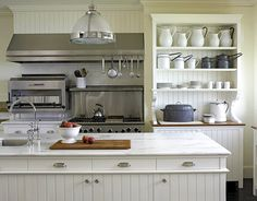 old fashioned maine kitchen designed by roman hudson
