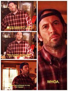 """Luke Can See Her Face"" Gilmore Girls, season 4, episode 20"