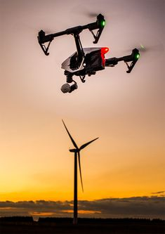 drone wind turbine inspection