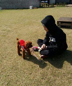 Min Suga with Holly  #BTS #BangtanSonyeondan  #LoveMyself