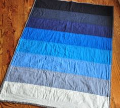 Annilygreen: Baby Blues quilt.
