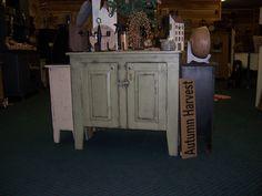 Olde Sage Green Sideboard