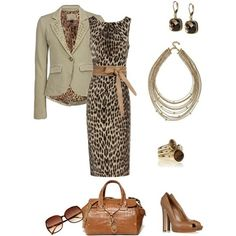Leooard Dress plus Accessories by Digirrl