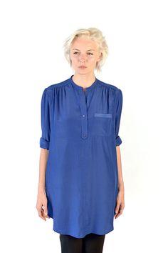 Louise blouse, Cobalt Blue