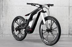 아우디 자전거 - AUDI e-Bike Worthersee :: Heiswed