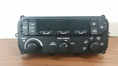 01-07 CARAVAN TOWN & COUNTRY CLIMATE CONTROL A/C HEATER 3-ZONE OEM # P05136781AA #Chrysler