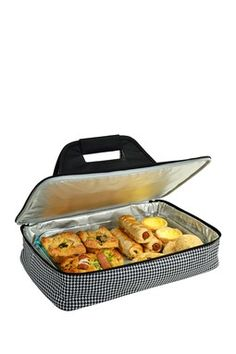 Thermal Food Carrier - Houndstooth. Tailgating at the Alabama Football Games. @Scarlette Scarborough