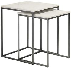 Content by Terence Conran Chelsea Nest of Two Square Side Tables £329