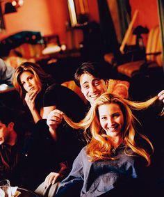 Jennifer Aniston, Matt LeBlanc and Lisa Kudrow