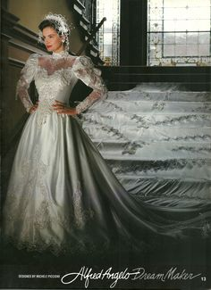 Alfred Angelo Dream Maker Spring Of 1992