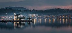 Corfu Komeno - Greece - #corfu #corfuisland  #kerkyraisland #kerkyra #ionio #ionianislands #greece #greeceislands   #travel #traveller #travelling #traveling #tourism #tourist #landscape #landscapes #photography #photographer #night #sea #sky #sailship #stylianosphotography #sailboat #shipwreck #shipyard #komenocorfu #church #mist #misty #sunset #sunsetcolors