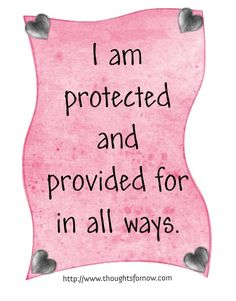DAILY AFFIRMATION FOR 18 MAY 2012