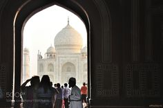 Popular on 500px : The meeting with Taj Mahal :First look first impressions by AnatolyBerman