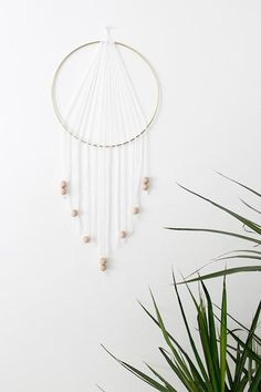 Super easy and simple form room DIYs to kick off the school year—Dream Catcher