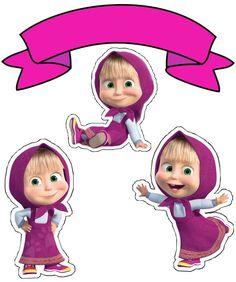 Ideias para festa de Aniversário - Masha e o Urso 3rd Birthday Cakes, Bear Birthday, Frozen Birthday, Masha Et Mishka, Marsha And The Bear, Theme Mickey, 2nd Birth, Bear Theme, Baby Drawing