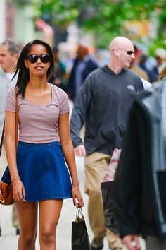 "Christmas ideas for stylish, teen girls. T&C Magazine printed a sample ""Holiday Gift Guide: For Malia Obama"", America's First Daughter/Fashionista."