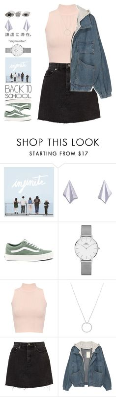 """Elizabeth"" by brie-the-pixie ❤ liked on Polyvore featuring Alice Barnes, Vans, Daniel Wellington, WearAll and Roberto Coin"