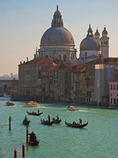 Not a painting of Venice...it's actually Venice. (Photo by K Tsoumenis)