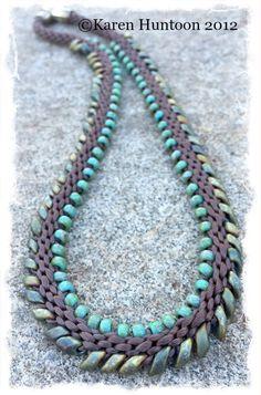 Magatama Fringe Necklace Kit