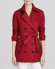 Burberry Brit Brookesby Short Trench Coat | Bloomingdale's