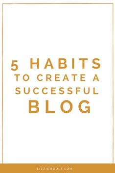 Consistently creating content for your blog is an ongoing task for many businesses and I find if you apply these 5 simple habits you will deliver fresh content each week with ease and grace.