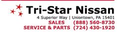 Welcome to Tri-Star Nissan. We proudly serve Uniontown, Connellsville…
