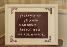 huoneentaulu Happy Friendship Day, Seriously Funny, Letter Board, Wisdom, Lettering, Thoughts, Sayings, Words, Quotes