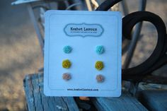 Vintage inspired Shabby Chic multi color by KeshetLavouxJewelry, $23.00