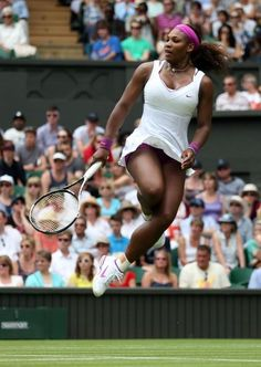 Serena has ups! 2012 The Championships at Wimbledon Champion. Serena became The Championships Champion for a 5th Time. #TEAMSERENA